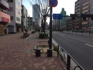 落合駅B2出口